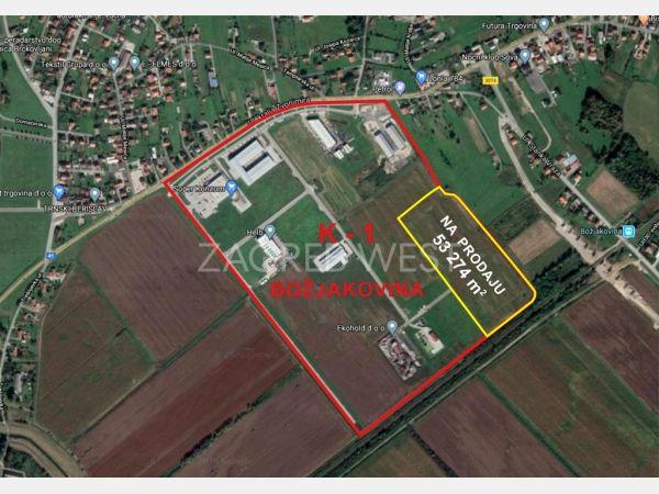 Plot for construction, Sale, Brckovljani, Božjakovina